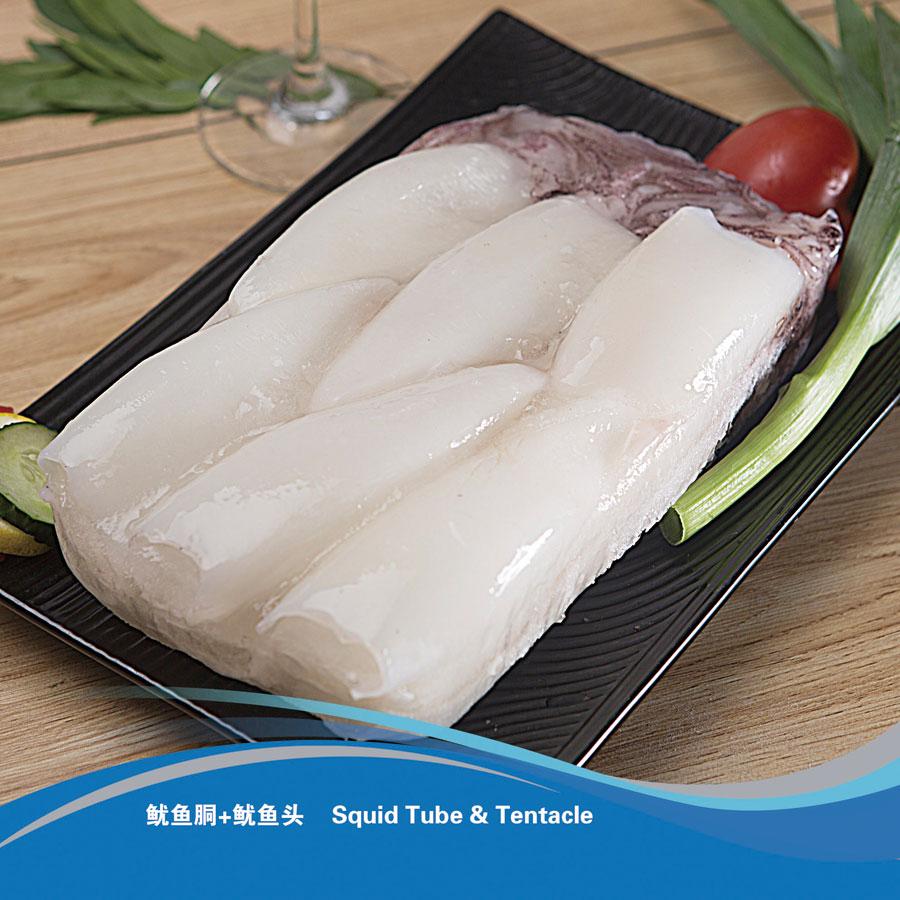 魷魚胴+魷魚頭