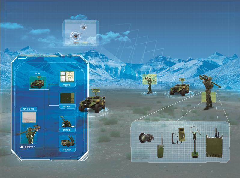 TH-S311 便携式防空导弹指挥系统