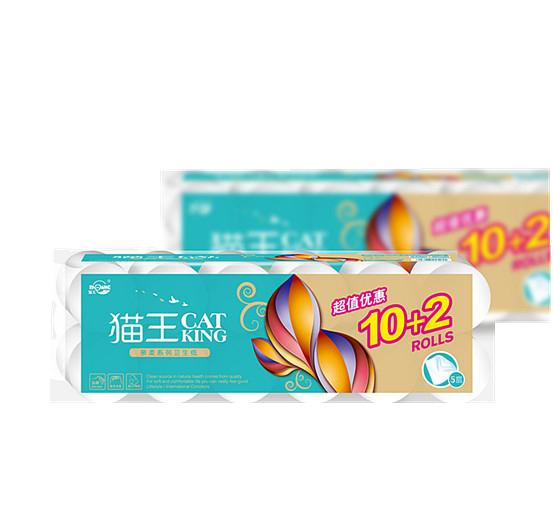 親柔平紋1000克短12卷