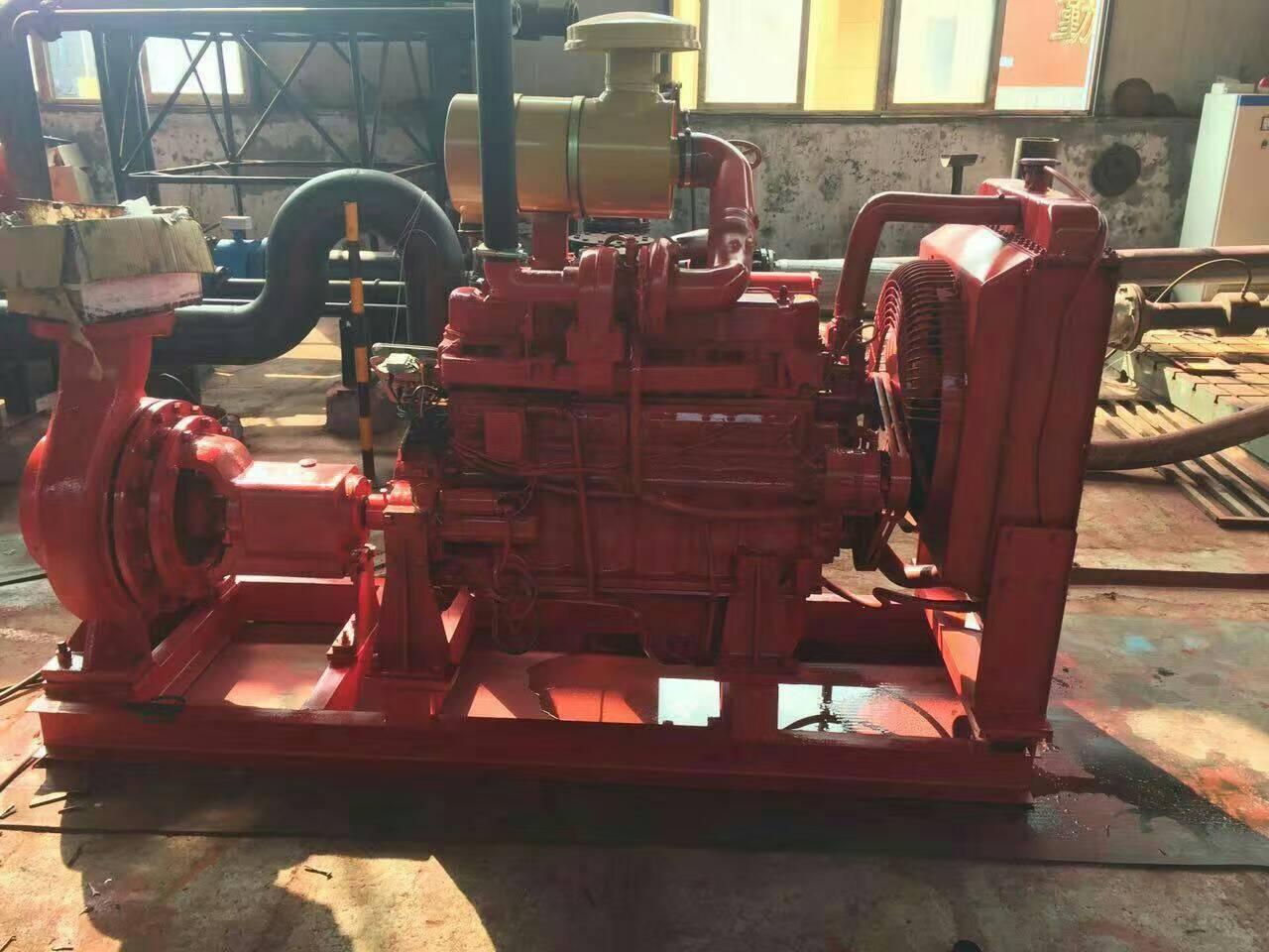 消防柴油機水泵組XBC5/20-BY