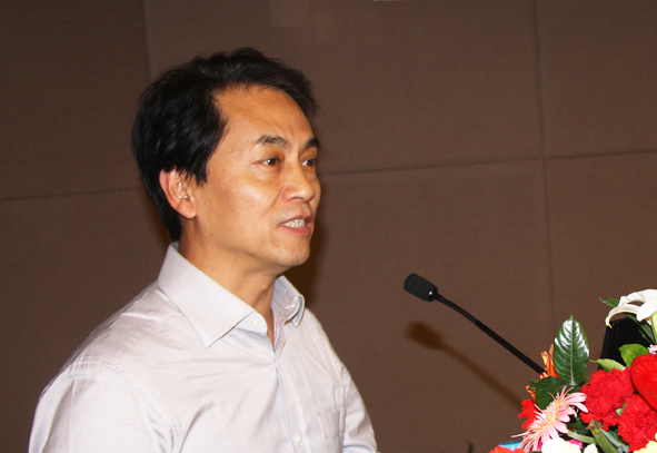 Ren nanqi, academician of Chinese Engineering Academy at Tianjushi Science and Technology Forum