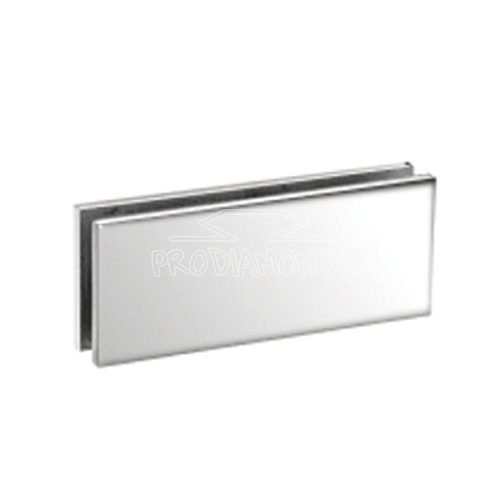 HEAVY-DUTY SQUARE GLASS TO GLASS 180 DEGREE CLAMP