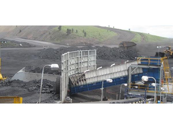 新疆哈密別斯庫都露天礦簡約式破碎站