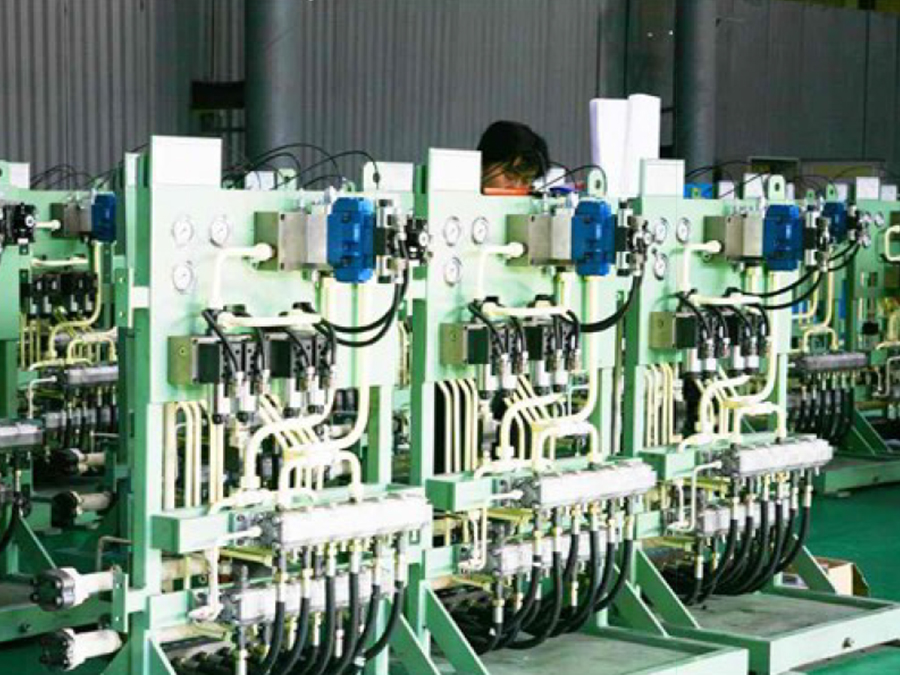 鋼管涂層生產線液壓閥臺