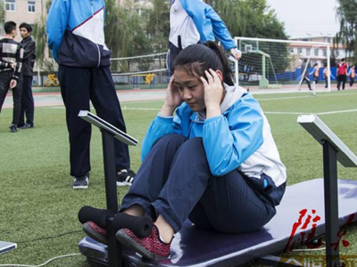 北京將中學生體質健康納入學業水平考試指標