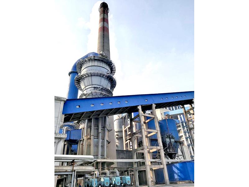 河南龍宇煤化工3*240t/h鍋爐超低排放系統