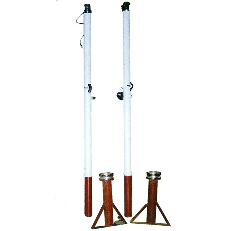 HQ-3006 插地式排球柱