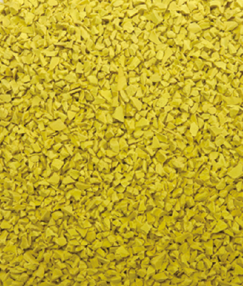 Yellow EPDM RUBBER GRANULES