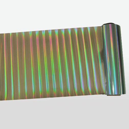 PET轉移無版線光柱鐳射膜