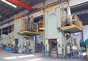 Cold forging production line