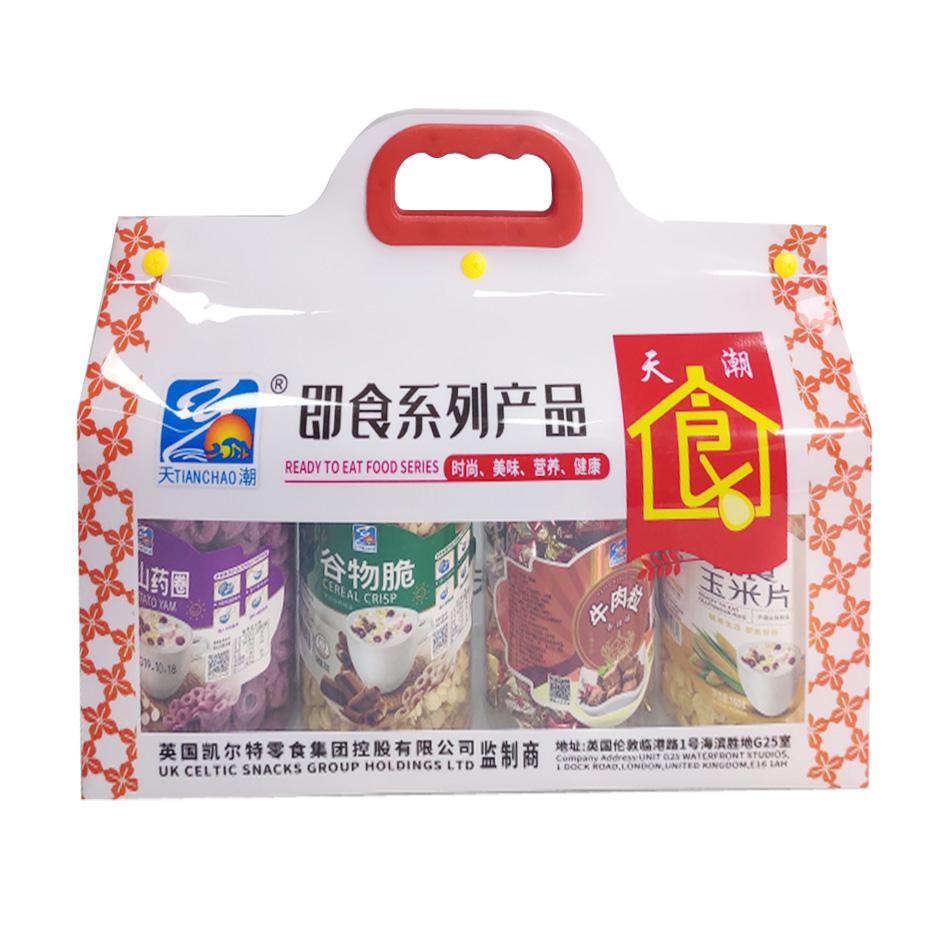 即食產品禮盒 4合1