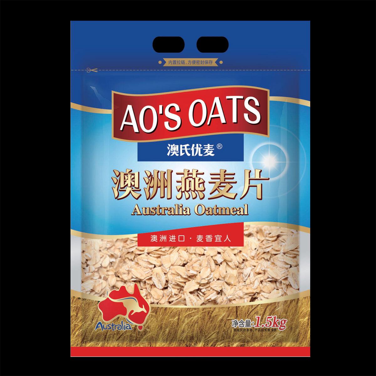 澳洲燕麥片( 原味)1500g袋裝