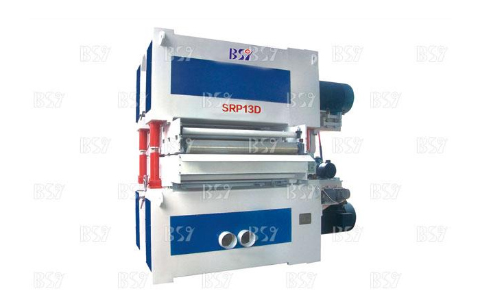 SRP13D Double width sand sander with double sides and fixed thickness
