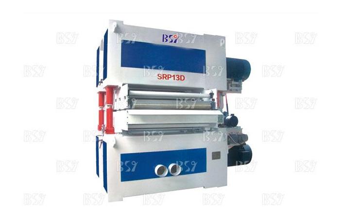 SRP13D雙面定厚雙砂架寬帶砂光機