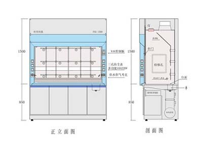 J-節能型補風通風柜