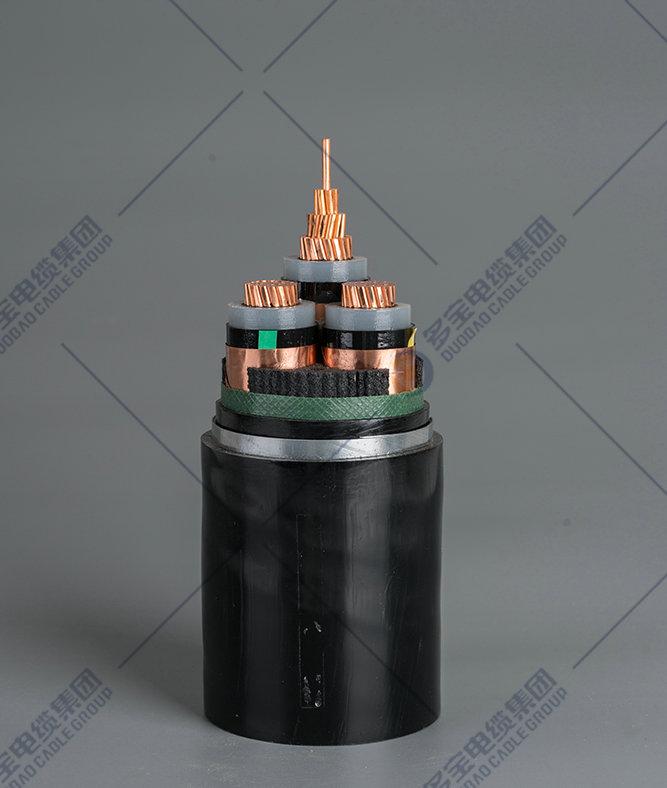 铜(铝)芯交联聚乙烯绝缘钢带铠装聚氯乙烯护套电力电缆