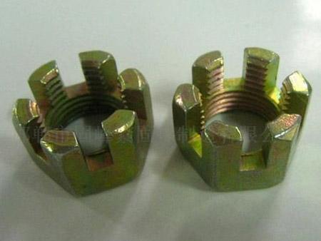 鍍鋅合金鋼花鍵槽形螺母