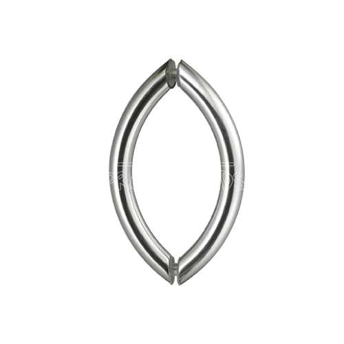 CRESCENT STYLE BACK-TO-BACK PULL HANDLE