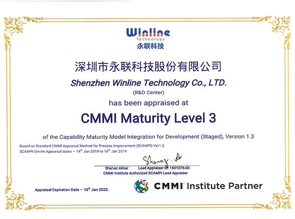 CMMI Maturity  Level 3