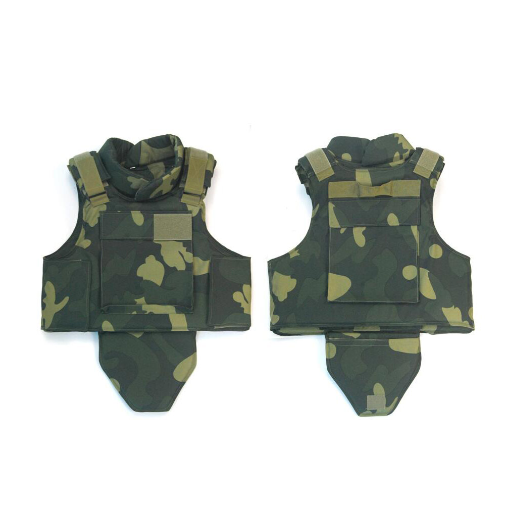 Military full-coverage armor vest ballistic vest