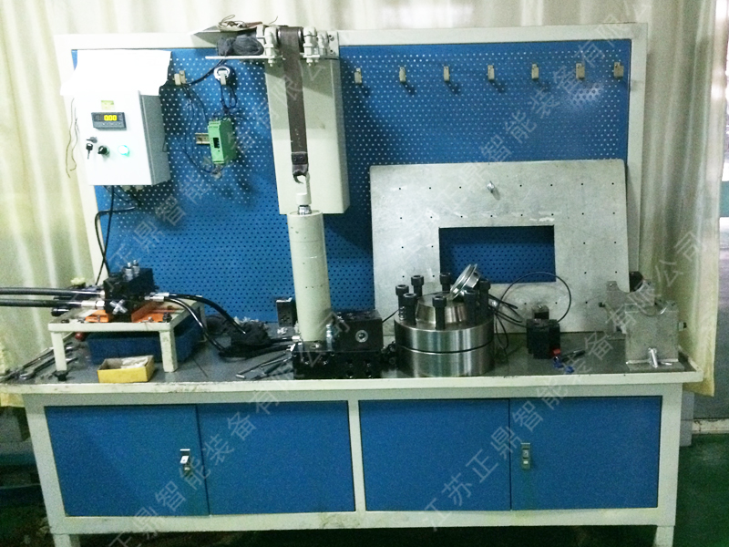 Hydraulic system cleaning station