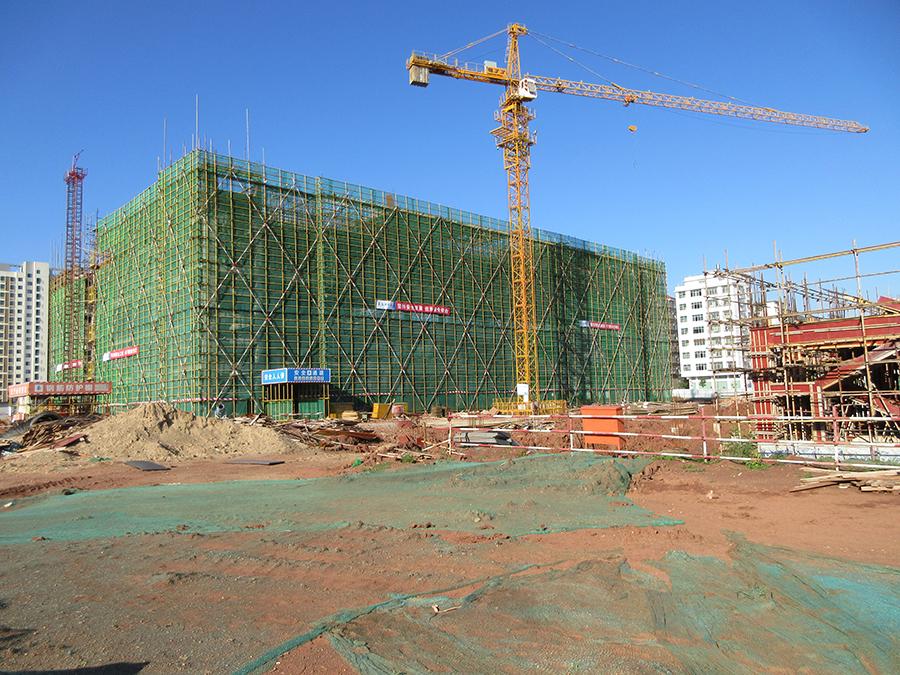 富康工業園西南片區二期土方平整工程