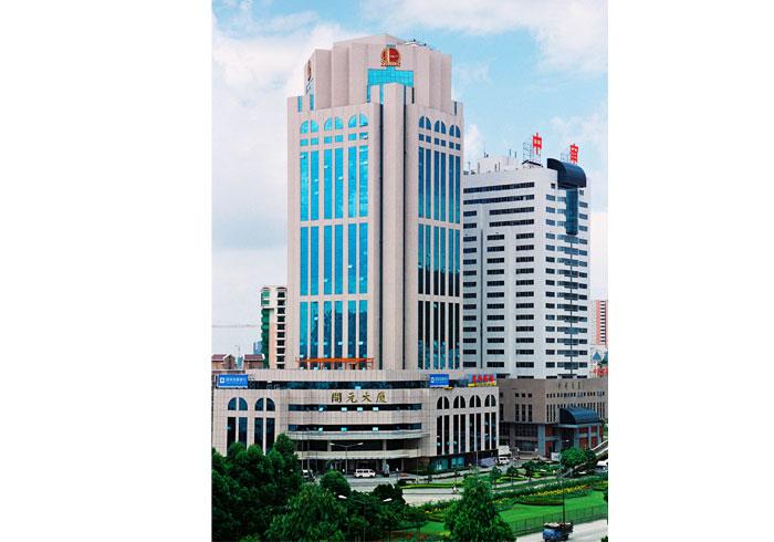 《开元大厦》--第一项中国建筑工程鲁班奖