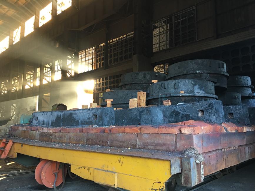 8mX14m熱處理窯