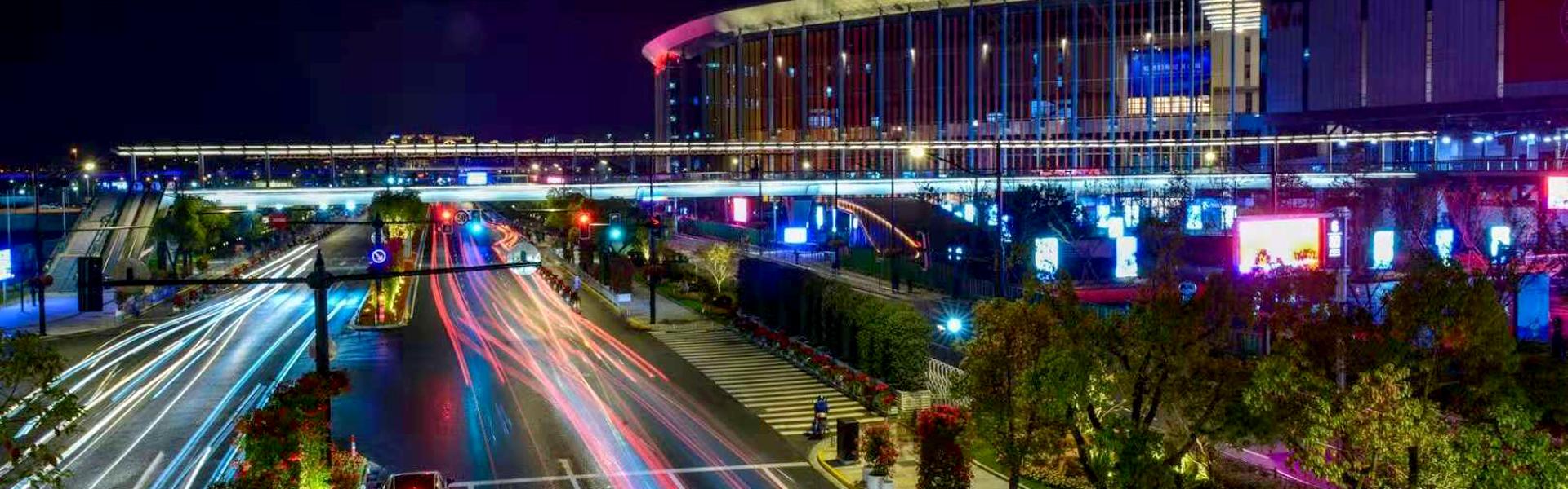 上海进博会综合信号杆项目