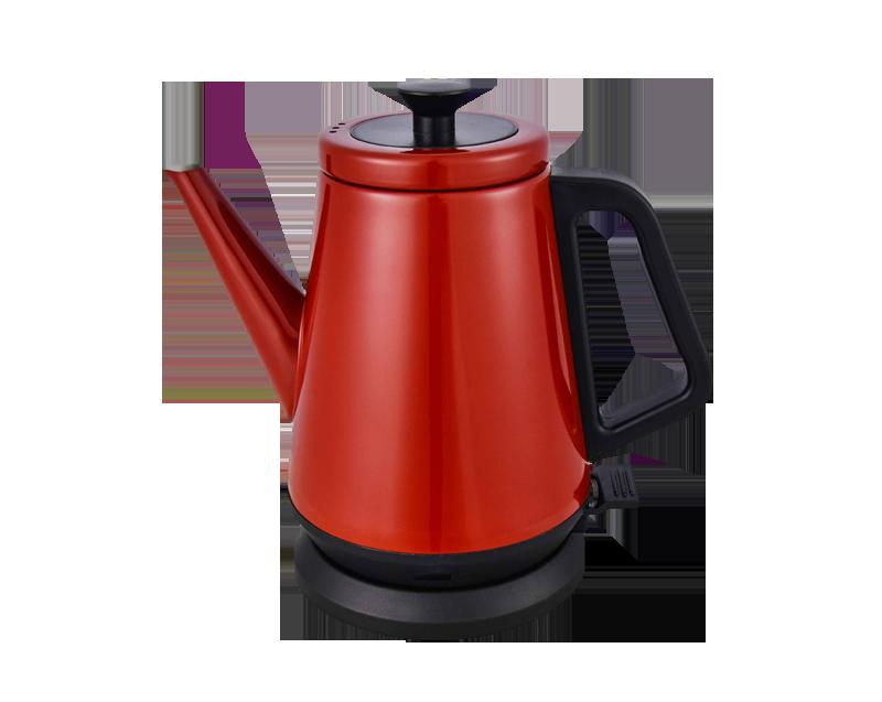 不銹鋼噴油電熱水壺