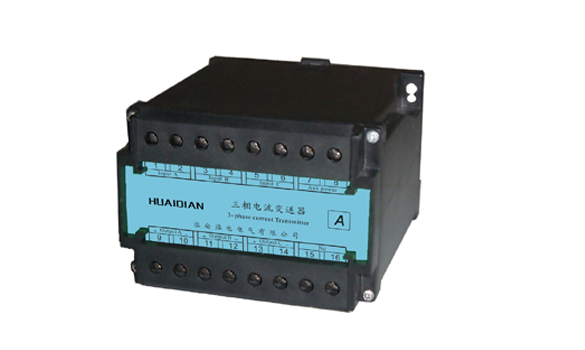 Three-phase AC voltage transmitter
