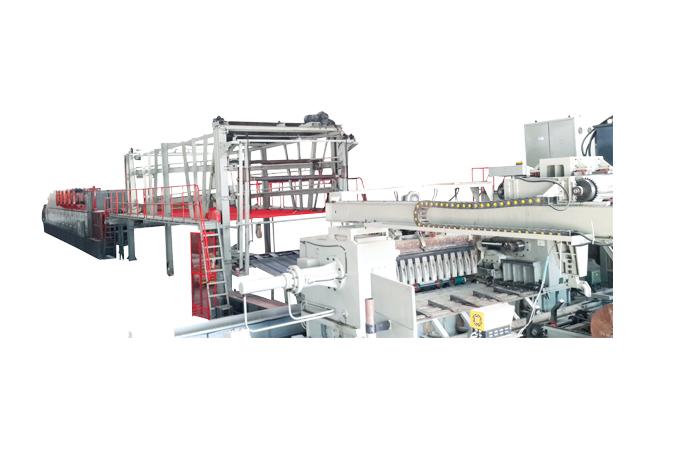數控單板旋切、卷板、存放、放板生產線