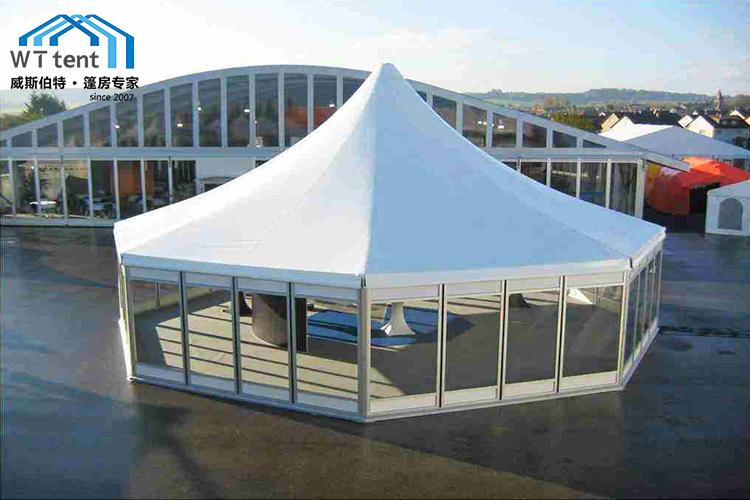 苏州威斯伯特篷房八边形篷房帐篷厂家定制帐篷