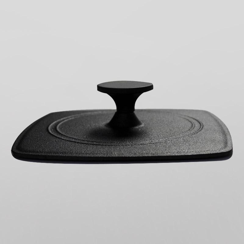 Cast iron grill press