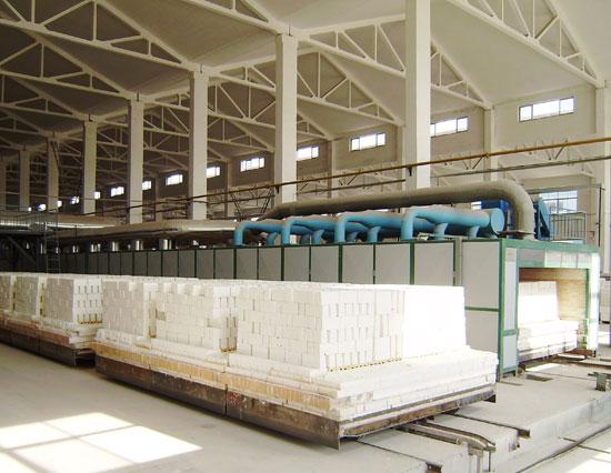 106.8m 耐火材料隧道窯