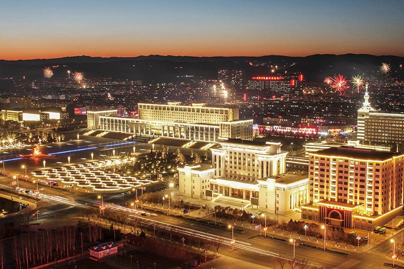 赤峰新区夜景照明PPP 项目