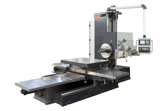 CNC horizontal milling and boring machine