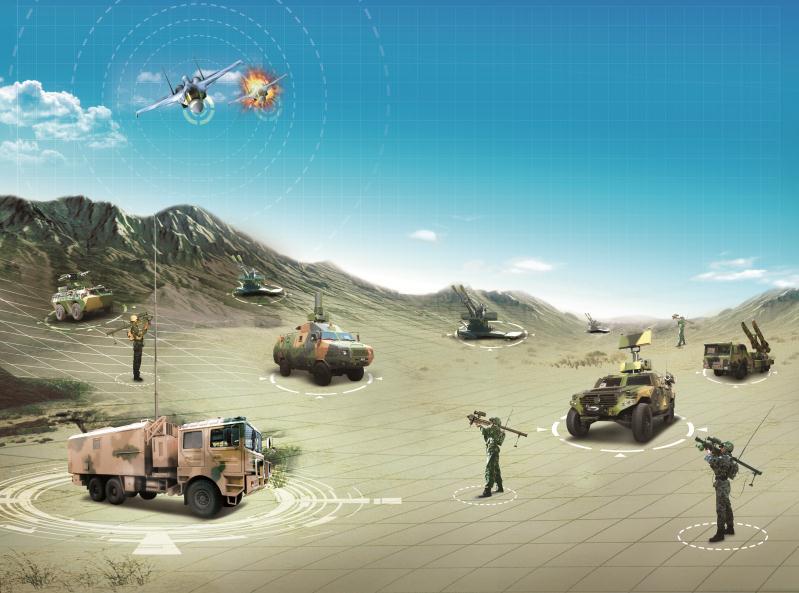 防空作战指挥系统组网图