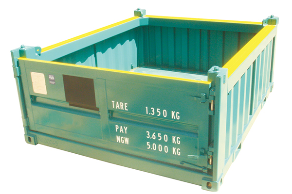 10ft Half Height Container