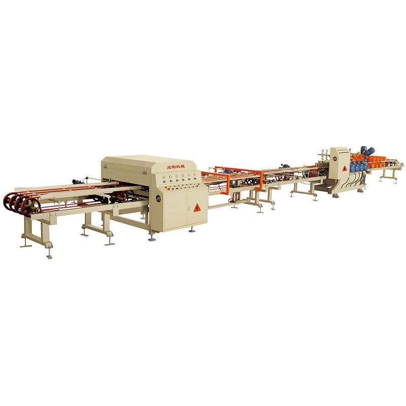 瓷砖自动加工生产线干切
