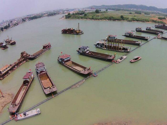 廣西液化天然氣(LNG)項目輸氣管道工程橫線六景郁江穿越工程(DN800無縫焊接鋼管)