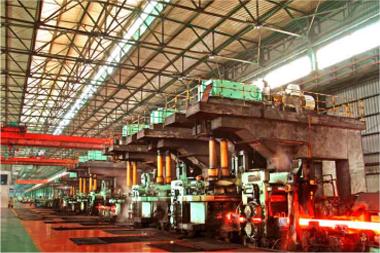 年產80萬噸的高速棒材生產線