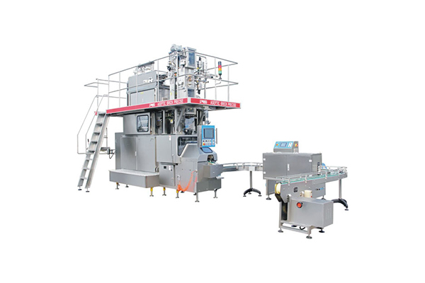 Full-automatic sterile brick-type packaging machine