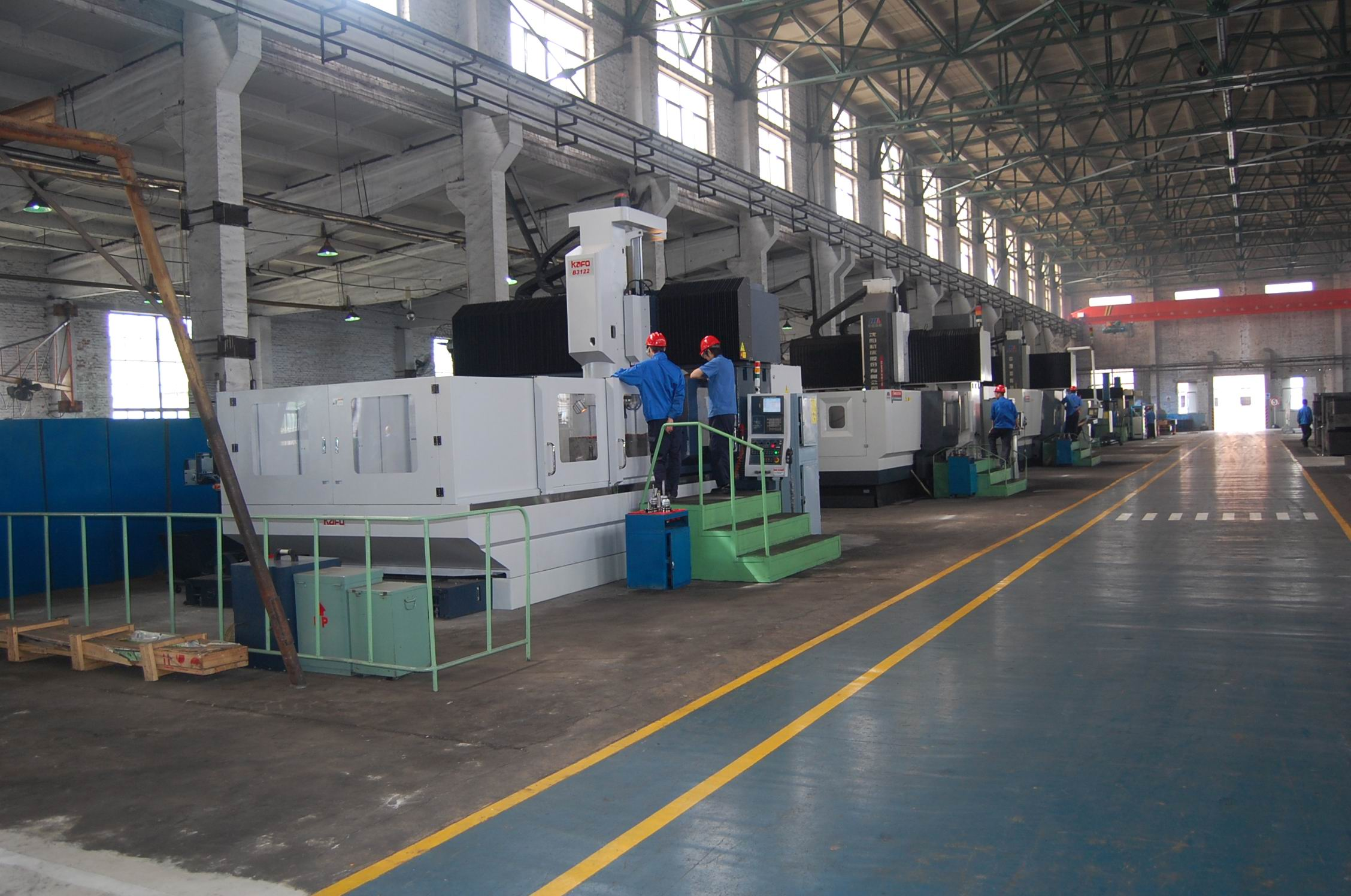 Dies processing production line