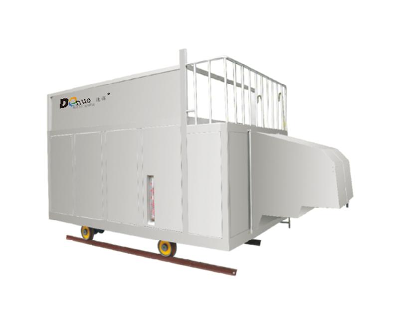 中藥提取全自動上料、除塵、出渣、儲渣、輸送及渣液回收系統