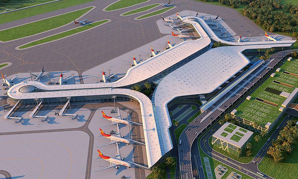 海南美蘭機場二期航站樓擴建工項目