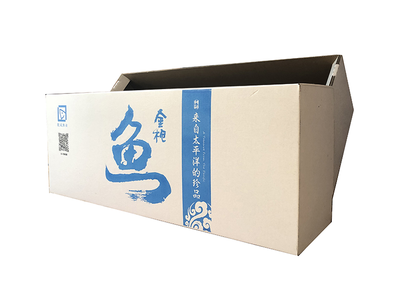 金枪鱼涂蜡纸箱