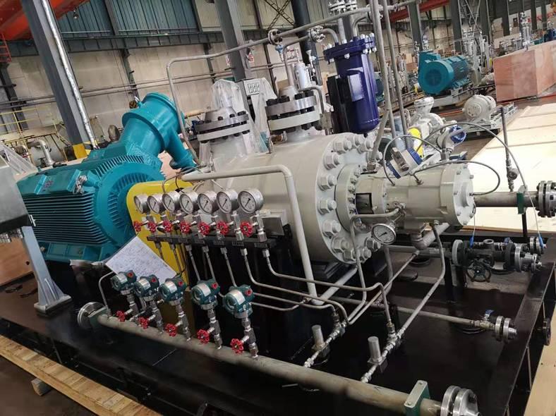 SBT臥式雙殼體筒袋泵(API610/BB5型式)