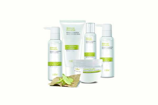 Natural plant hair care series