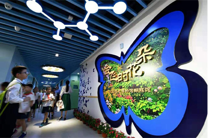 Wetland Museum | 9-year-old child is competing as curator? The China Wetland Museum has opened another branch, which is actually handed over to the children to operate.